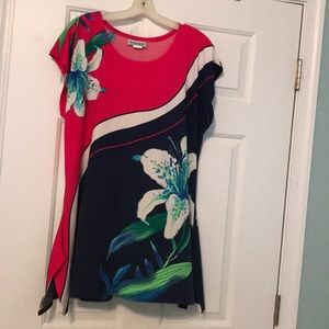 Bright colored summer women's top